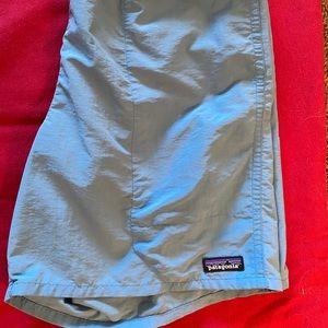 7 inch inseam Patagonia baggies, lightly worn.